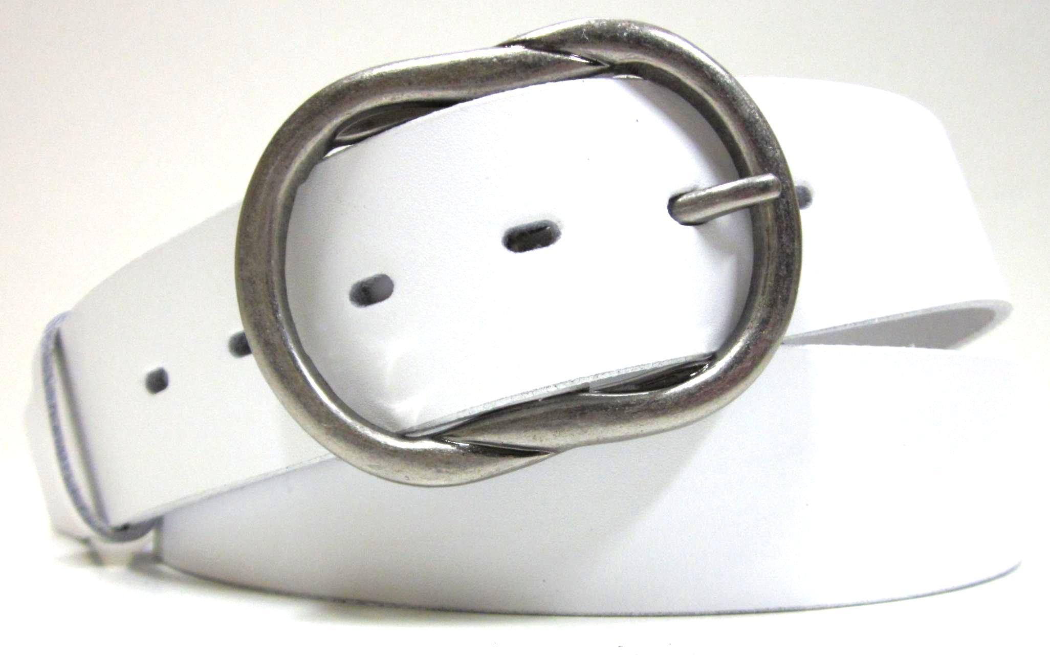 3051343ec0c Bílý opasek dámský - kožený opasek