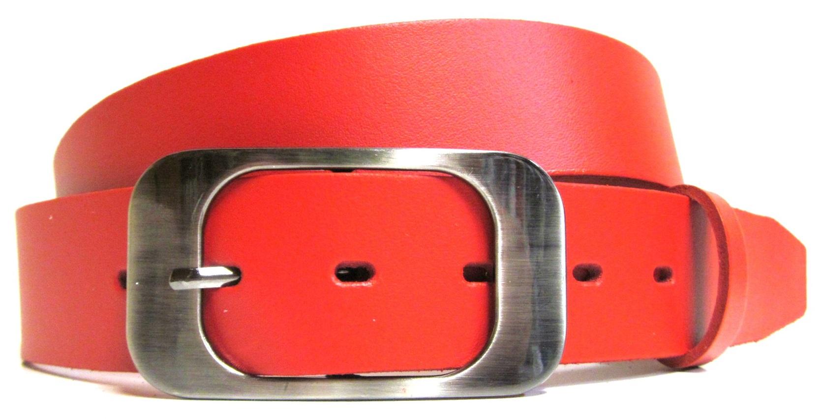 Červený opasek dámský cool